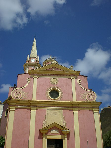 Photo du Monument Historique Eglise Sainte-Marie situé à Calvi