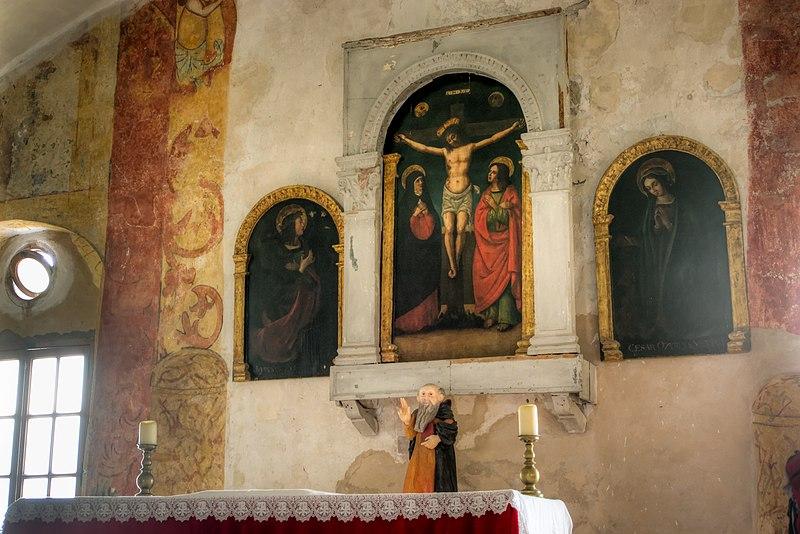 Photo du Monument Historique Oratoire Saint-Antoine situé à Calvi