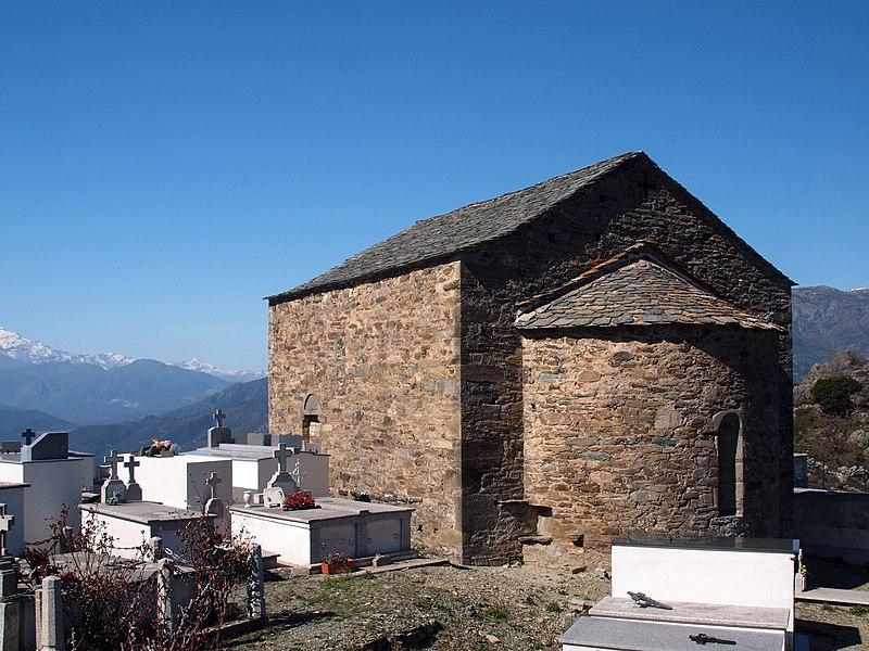 Photo du Monument Historique Eglise Saint-Thomas de Pastoreccia situé à Castello-di-Rostino