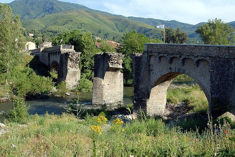 Photo du Monument Historique Pont de Ponte-Nuovo sur le Golo situé à Castello-di-Rostino