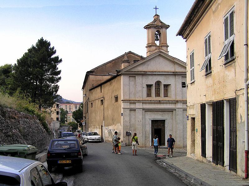Photo du Monument Historique Chapelle Sainte-Croix situé à Corte