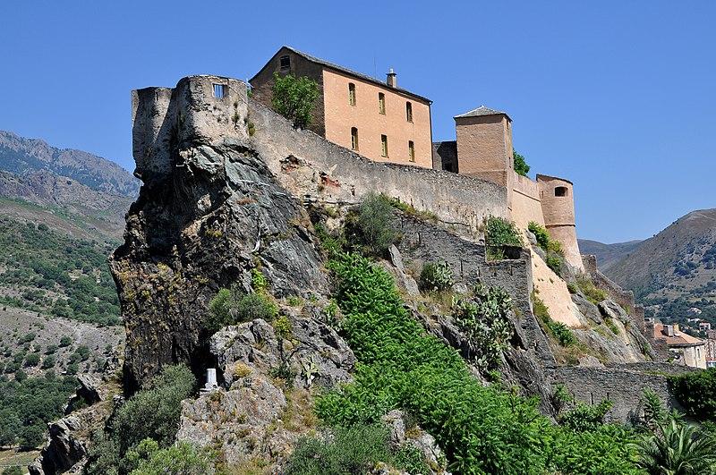 Photo du Monument Historique Citadelle situé à Corte