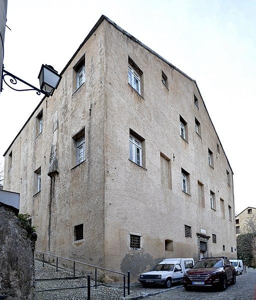 Photo du Monument Historique Maison dite Palais National situé à Corte