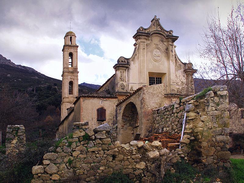 Photo du Monument Historique Ancien couvent de Tuani situé à Costa
