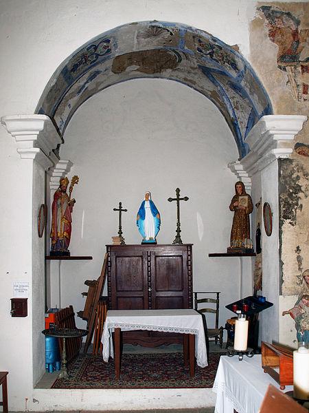 Photo du Monument Historique Chapelle Santa-Maria-Assunta situé à Favalello