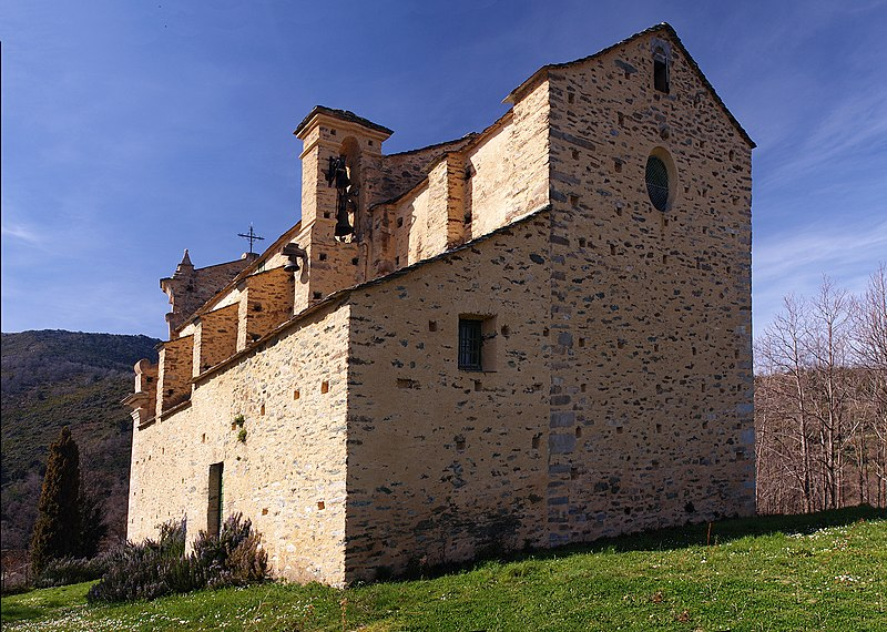 Photo du Monument Historique Eglise San-Quilico situé à Giocatojo