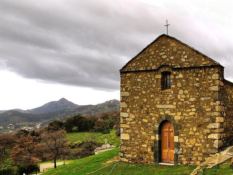 Photo du Monument Historique Chapelle San-Cervone situé à Lavatoggio