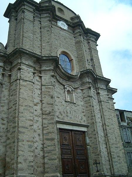Photo du Monument Historique Eglise Saint-André situé à Loreto-di-Casinca