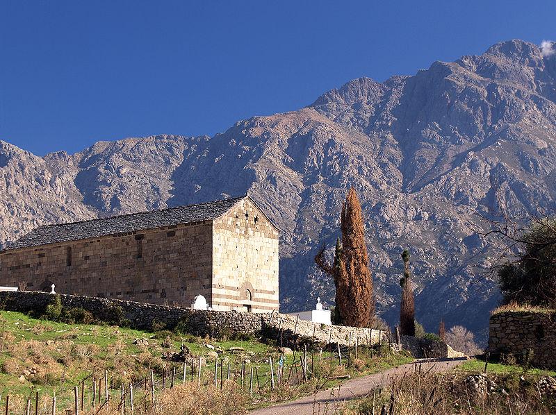 Photo du Monument Historique Chapelle Saint-Rainier situé à Montegrosso
