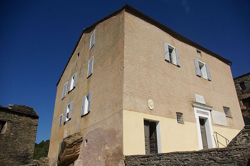 Photo du Monument Historique Maison natale de Pascal Paoli situé à Morosaglia
