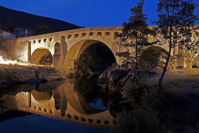 Photo du Monument Historique Pont sur le Golo à Ponte Leccia situé à Morosaglia