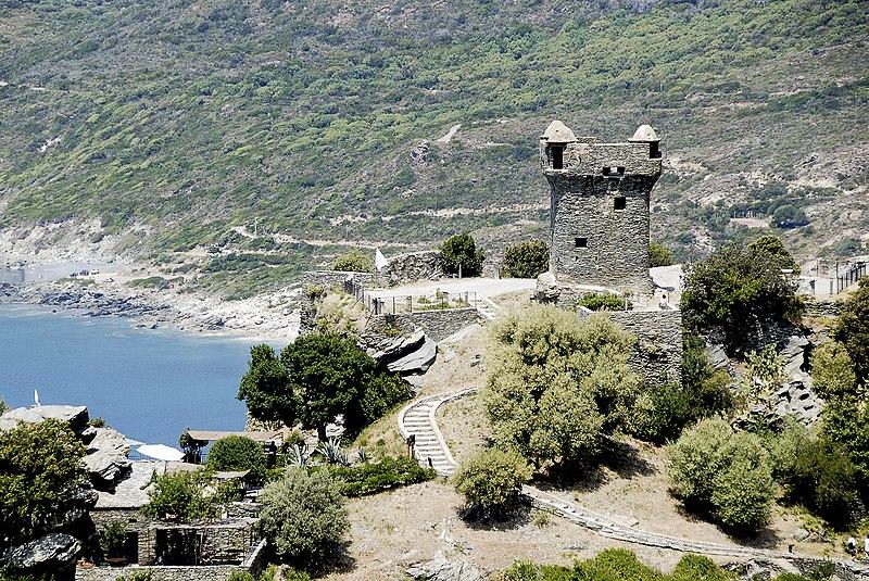 Photo du Monument Historique Tour de Nonza ou de Torra situé à Nonza