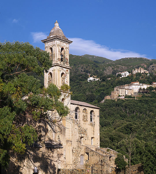 Photo du Monument Historique Ancien couvent Saint-Francois situé à Oletta