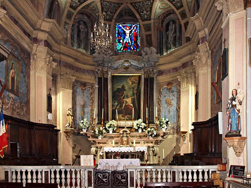 Photo du Monument Historique Eglise paroissiale Saint-André situé à Oletta