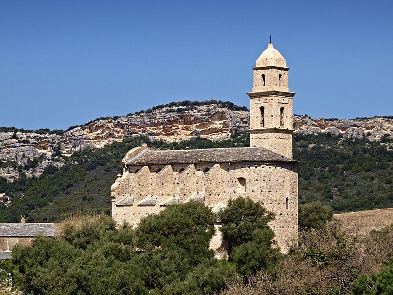 Photo du Monument Historique Eglise Saint-Martin situé à Patrimonio