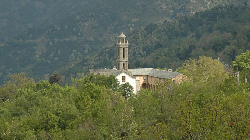 Photo du Monument Historique Ancien couvent de Valle d'Alesani situé à Piazzali