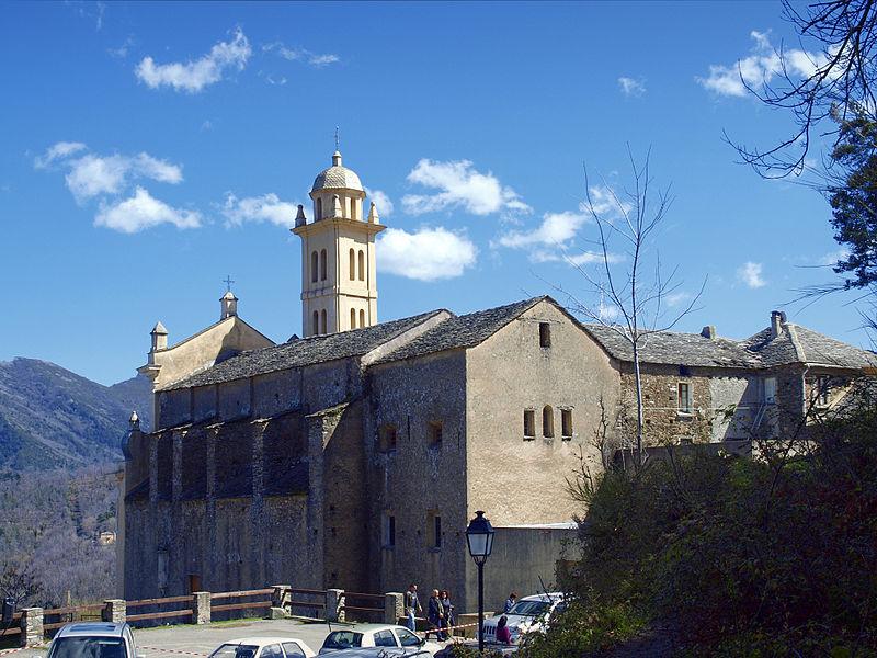 Photo du Monument Historique Chapelle de confrérie Santa-Devota situé à Piedicroce