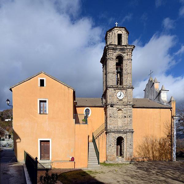 Photo du Monument Historique Eglise paroissiale situé à Pietraserena