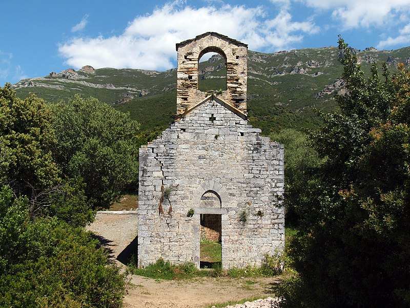 Photo du Monument Historique Ancienne chapelle San-Quilico situé à Poggio-d'Oletta