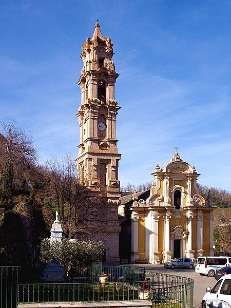 Photo du Monument Historique Eglise Saint-Jean-Baptiste situé à La Porta