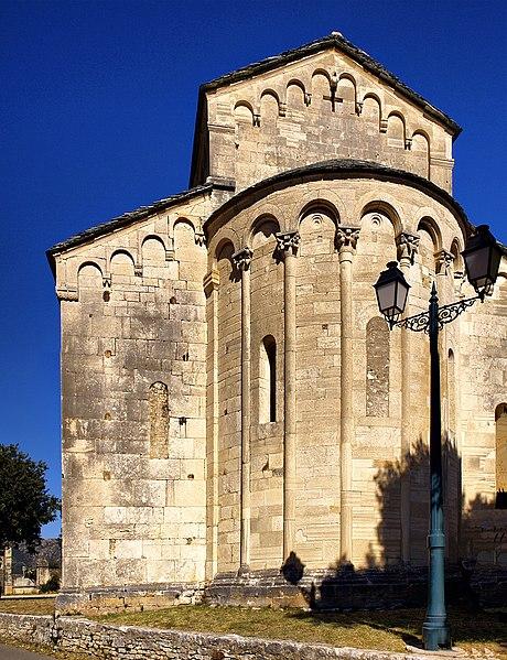 Photo du Monument Historique Eglise Sainte-Marie (ancienne cathédrale de Nebbio) situé à Saint-Florent