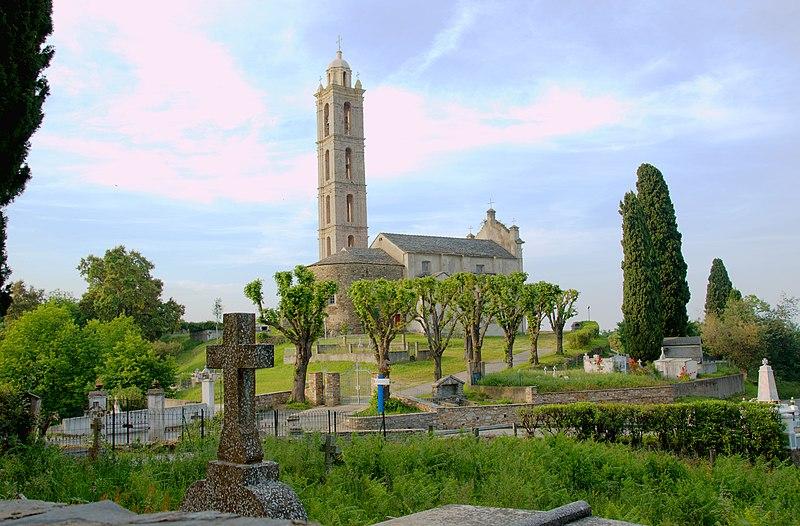 Photo du Monument Historique Eglise paroissiale San Nicolao situé à San-Nicolao