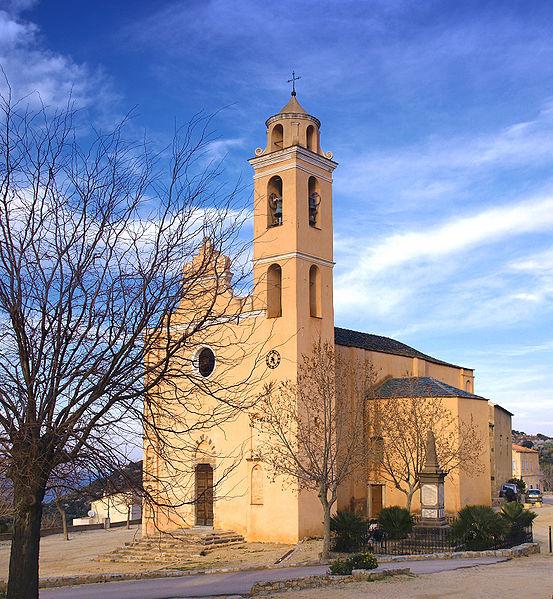 Photo du Monument Historique Eglise situé à Santa-Reparata-di-Balagna