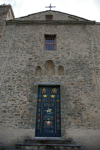 Photo du Monument Historique Eglise Sainte-Marie situé à Valle-d'Orezza