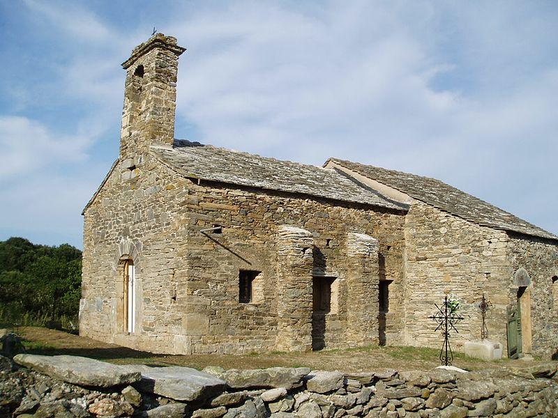 Photo du Monument Historique Eglise Sainte-Christine situé à Valle-di-Campoloro