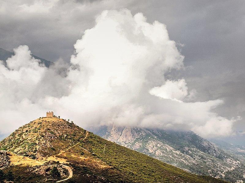 Photo du Monument Historique Ruines du Fort de Vivario ou redoute de Pasciola situé à Vivario
