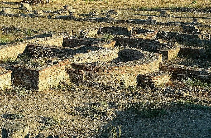 Photo du Monument Historique Site archéologique de la ville antique d'Aleria situé à Aléria