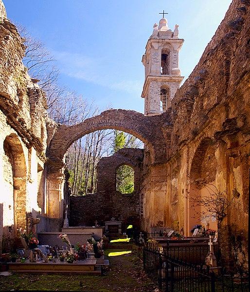 Photo du Monument Historique Couvent Saint-Antoine situé à Casabianca