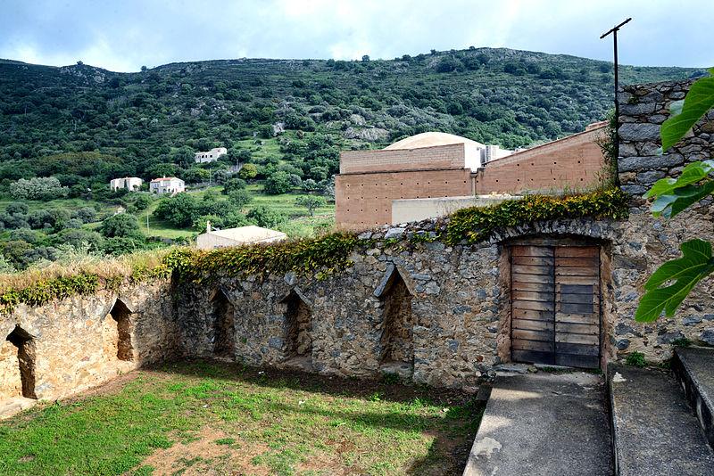 Photo du Monument Historique Enclos A. Vaccaghja situé à Pigna