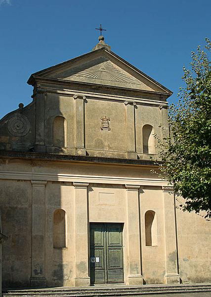 Photo du Monument Historique Eglise paroissiale Saint-Pierre-de-Piazza situé à Luri