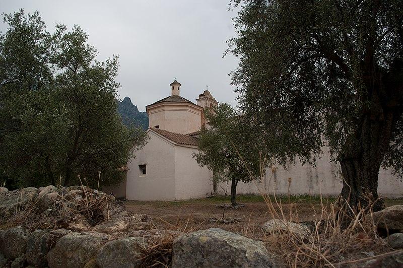 Photo du Monument Historique Eglise Sainte-Restitude situé à Calenzana