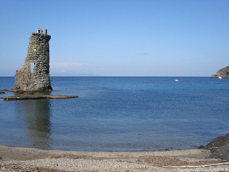 Photo du Monument Historique Tour de Santa-Maria-della-Chiappella situé à Rogliano