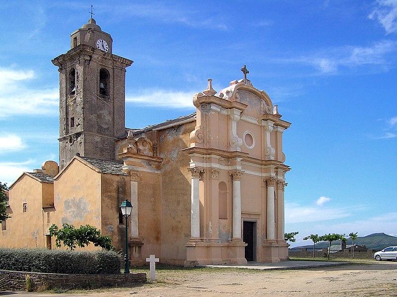 Photo du Monument Historique Eglise San Nicolao situé à Tomino