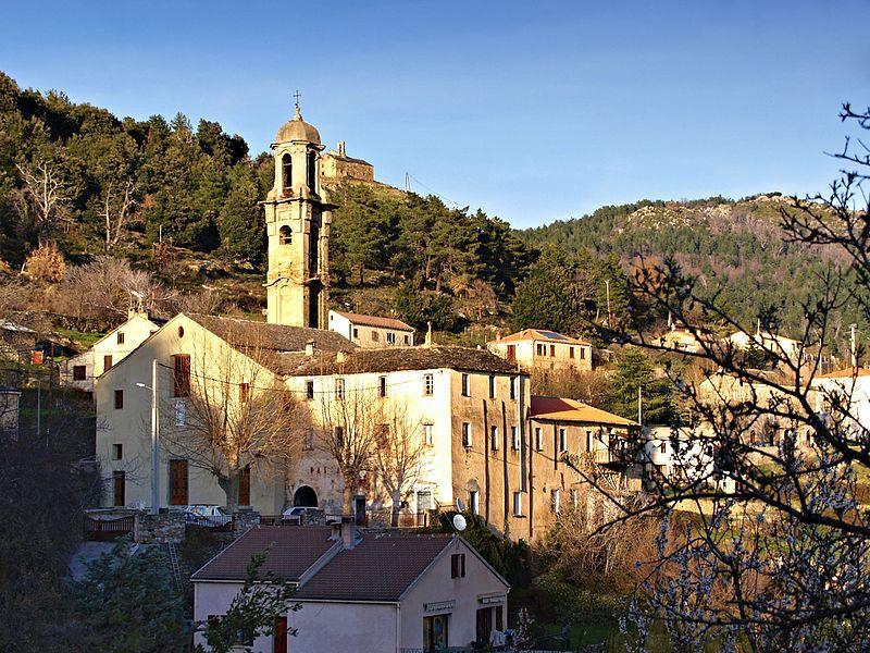 Photo du Monument Historique Couvent Saint-François situé à Morosaglia