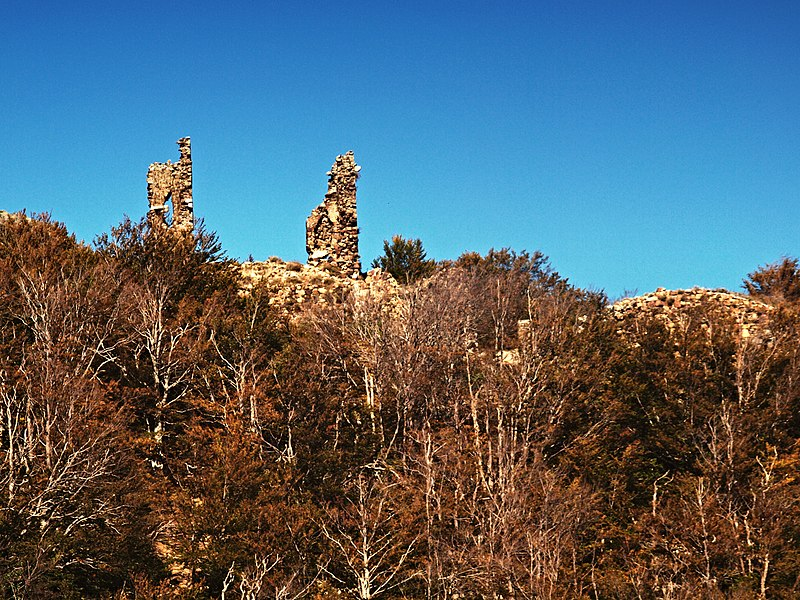 Photo du Monument Historique Ruines du Fort de Vizzavona situé à Vivario