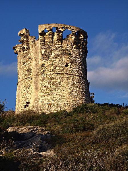 Photo du Monument Historique Tour de Farinole situé à Farinole