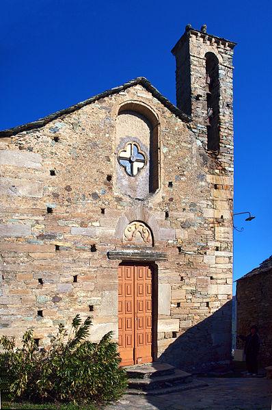 Photo du Monument Historique Eglise Santa Reparata situé à Morosaglia