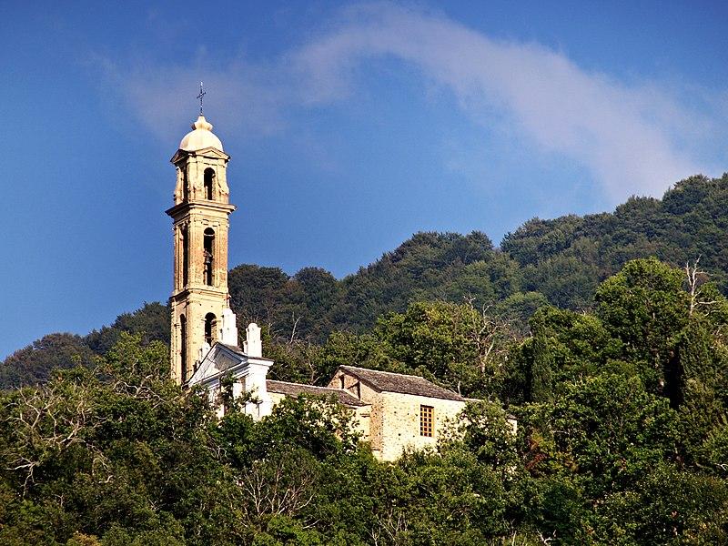 Photo du Monument Historique Eglise Saint-André situé à Sant'Andréa-di-Bozio