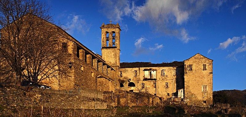Photo du Monument Historique Couvent Saint-François du Bozio situé à Alando