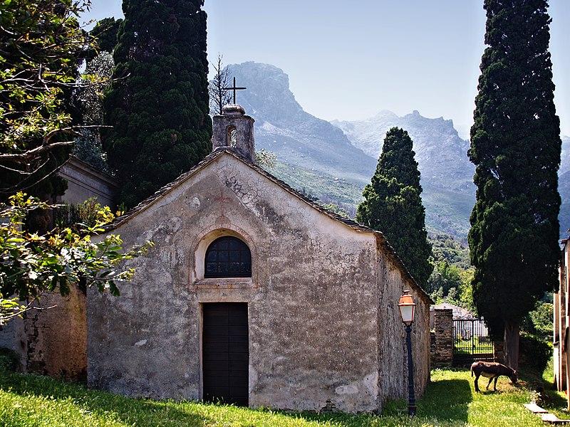 Photo du Monument Historique Chapelle de la Confrérie de la Sainte-Croix situé à Brando