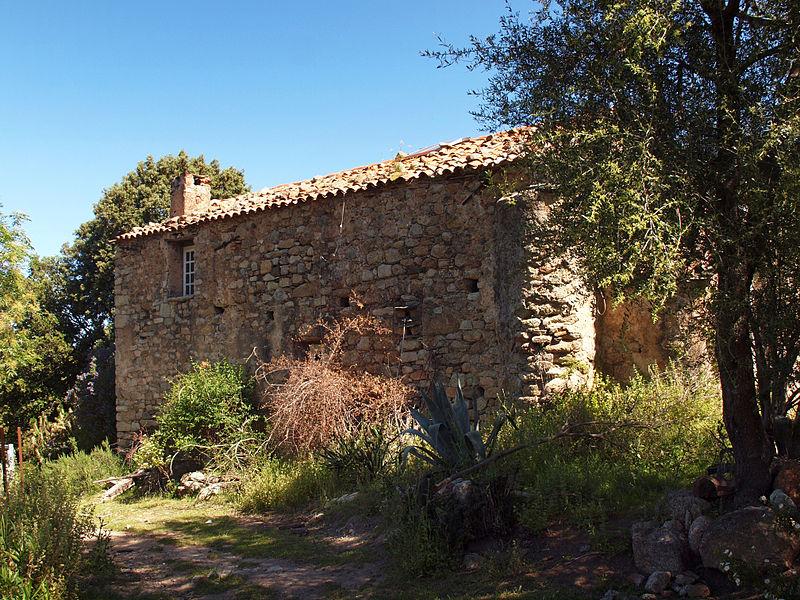 Photo du Monument Historique Ancienne chapelle San Lorenzo situé à Lama