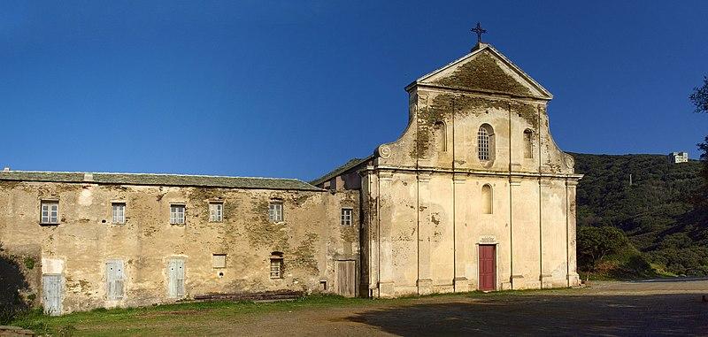 Photo du Monument Historique Couvent de l'Annonciation situé à Morsiglia