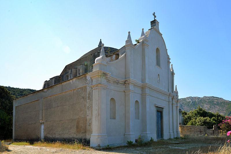 Photo du Monument Historique Ensemble paroissial Saint-Sylvestre, situé à Centuri