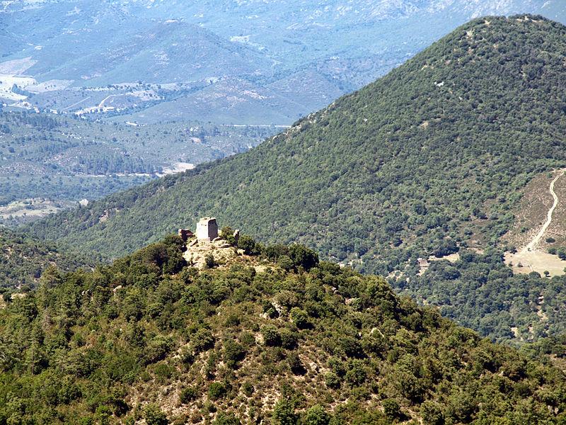 Photo du Monument Historique Castello de Serravalle situé à Prato-di-Giovellina