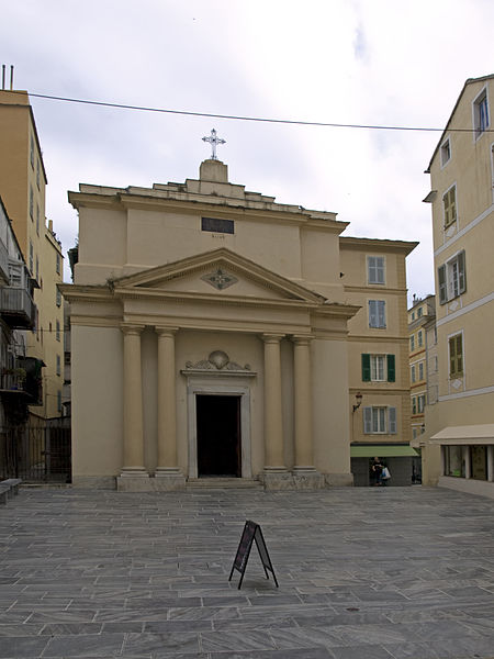 Photo du Monument Historique Eglise ou oratoire Saint-Roch situé à Bastia