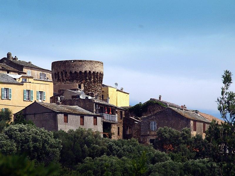 Photo du Monument Historique Immeuble dit maison-tour, sis dans le hameau de Poggio situé à Ersa